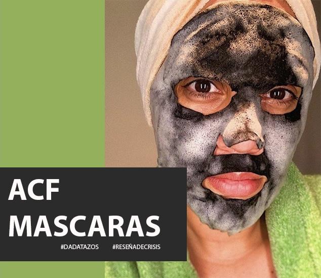 ACF Máscaras – Me regalaron unas y las amé.