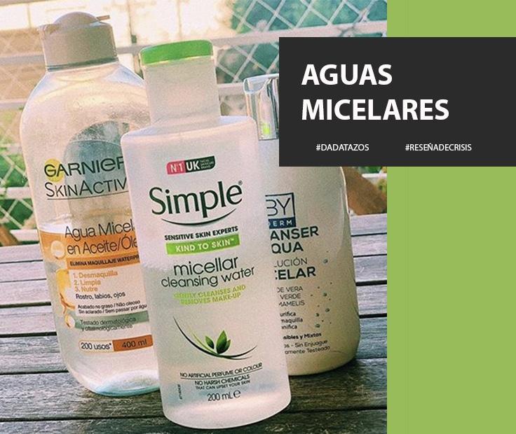 Agua Micelar – Una mejora a la hora de la rutina de limpieza.