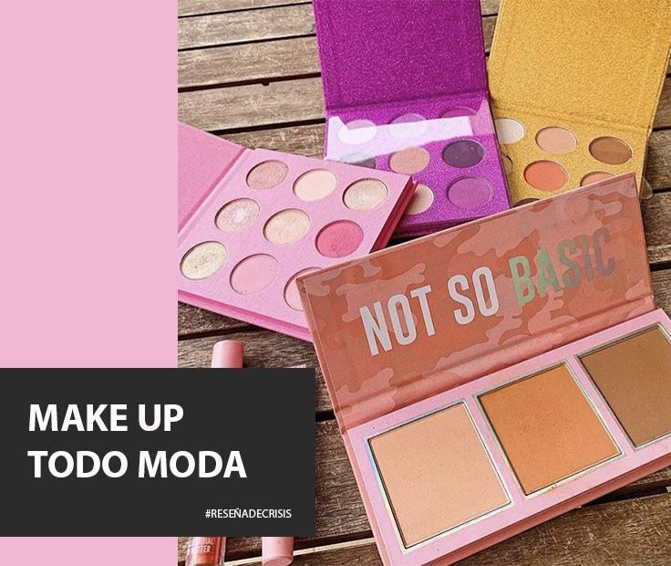 Maquillaje de Todo Moda – Nos asombramos con los productos.