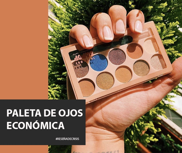 Paleta de ojos económica – Dapop Cosmetics nos sorprende.