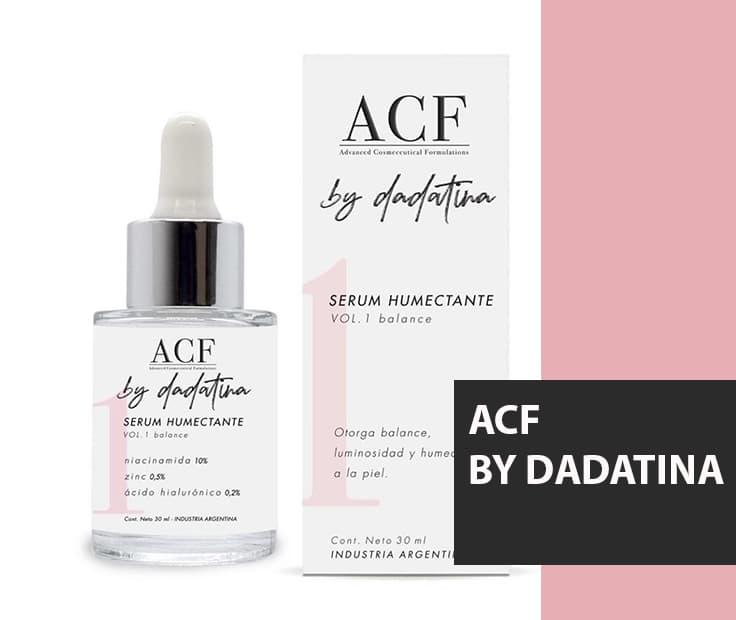 ACF By Dadatina – ¡MIL GRACIAS por permitirme realizar este sueño!