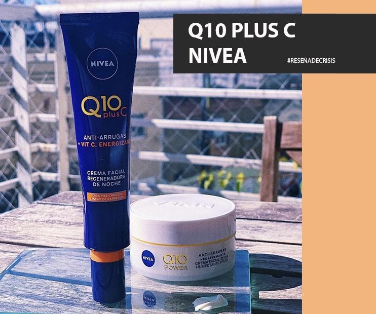 Nivea Q10 Plus C – La crema que necesitamos SI O SI post 25 años.