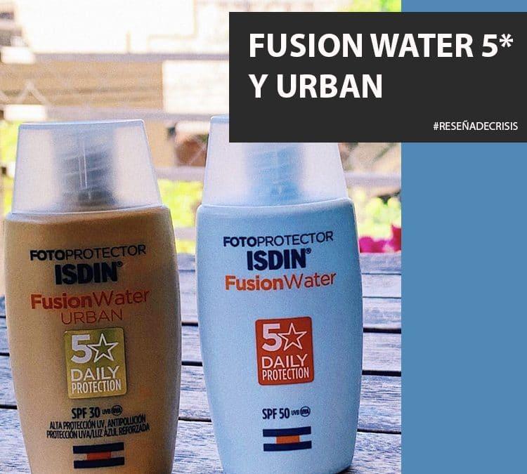 Los nuevos protectores solares 5* de ISDIN – El Fusion Water y El Urban.