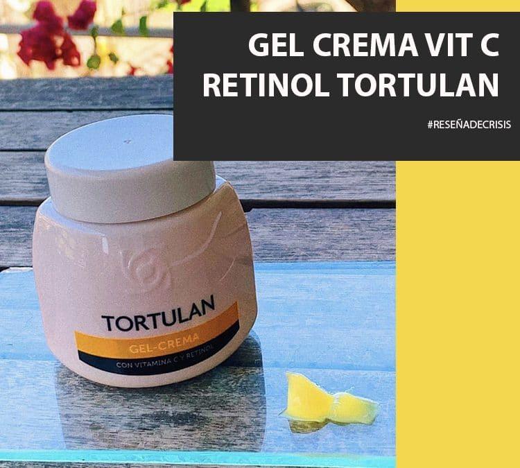 Gel Crema con Vitamina C y Retinol de Tortulan – Ideal para el Verano.