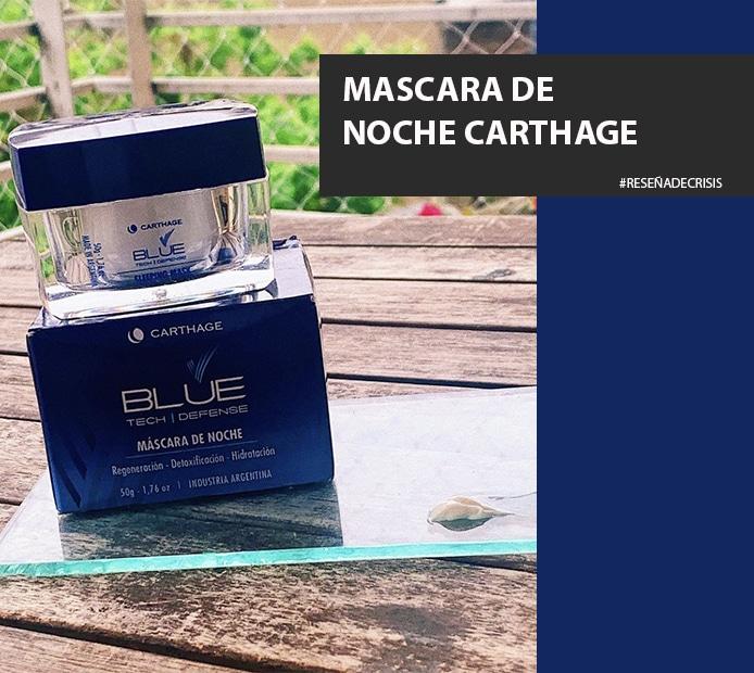 Blue Tech Defense, Máscara de noche de Carthage – Por qué me parece una opción bárbara.