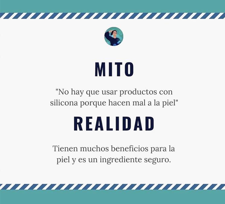 Mitos y Realidades – Hablamos de productos con siliconas.