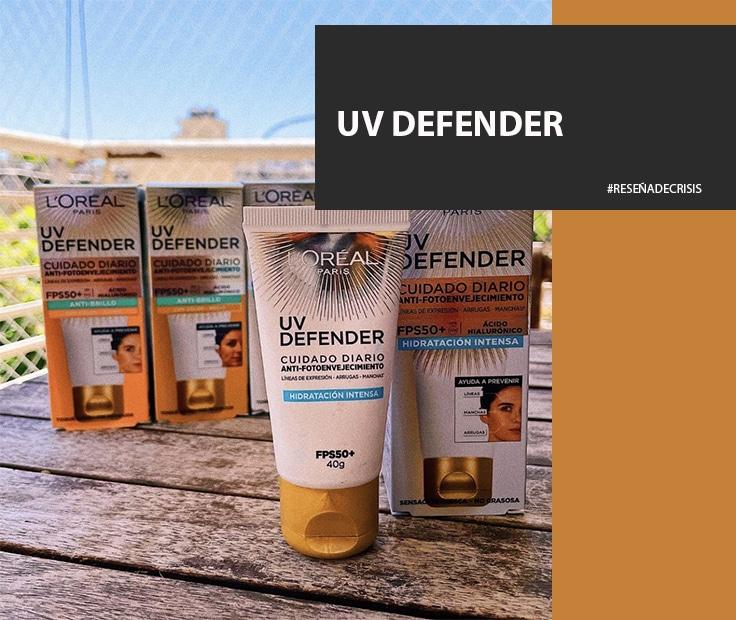 L´Oreal UV Defender – Una alternativa para proteger e hidratar la piel día a día.