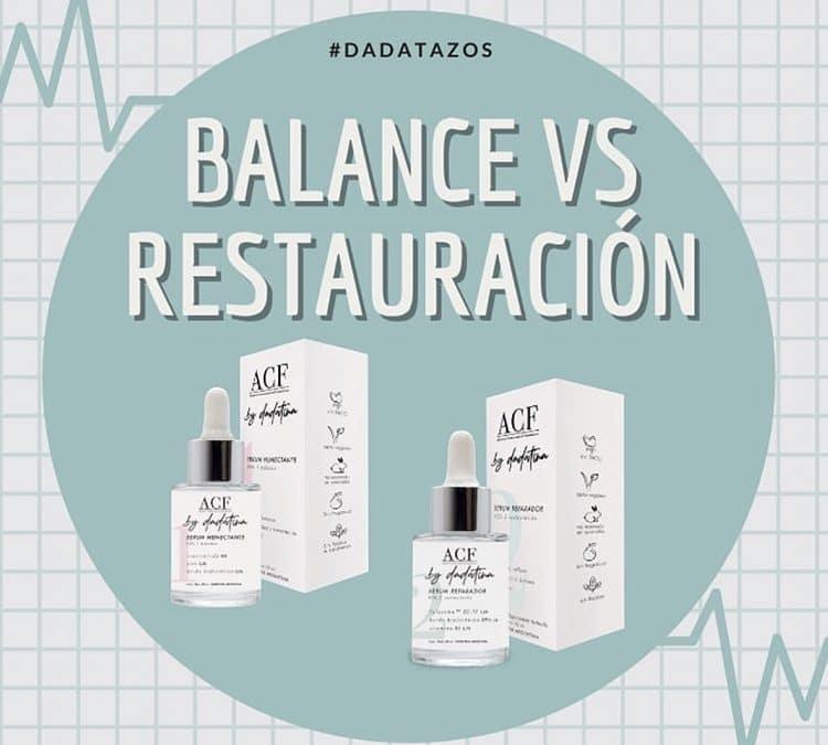 Balance VS. Restauración – Una guía súper completa de ambos productos.