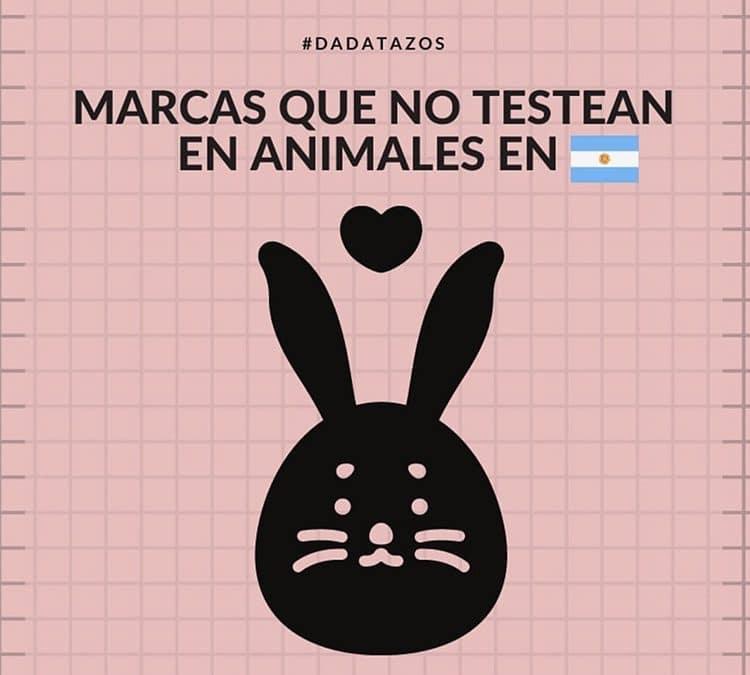Marcas que NO testean en Animales en Argentina – Una lista a pedido de ustedes.